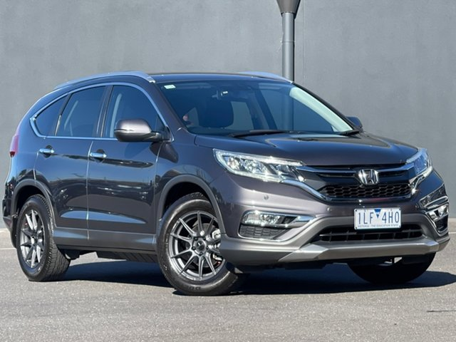 Used Honda CR-V RM Series II MY16 VTi-S Moorabbin, 2015 Honda CR-V RM Series II MY16 VTi-S Grey 5 Speed Sports Automatic Wagon