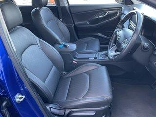 2018 Hyundai i30 PD2 MY18 Elite Blue 6 Speed Sports Automatic Hatchback.