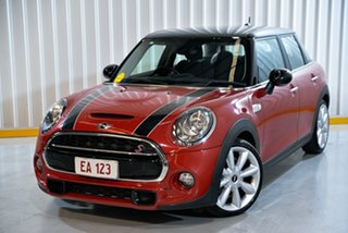 2015 Mini Hatch F55 Cooper S Red 6 Speed Automatic Hatchback.