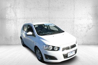 2012 Holden Barina TM 6 Speed Automatic Hatchback.