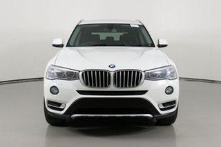 2015 BMW X3 F25 MY15 xDrive20d White 8 Speed Automatic Wagon.