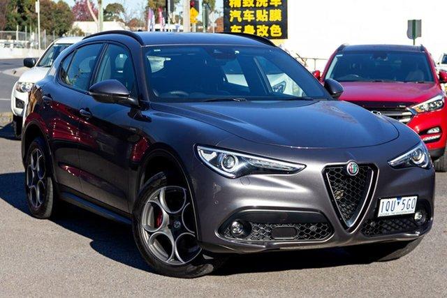 Used Alfa Romeo Stelvio AWD Nunawading, 2019 Alfa Romeo Stelvio AWD Grey 8 Speed Sports Automatic Wagon
