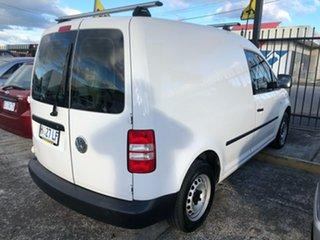 2011 Volkswagen Caddy 2KN MY11 TSI160 SWB White 5 Speed Manual Van.