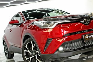 2019 Toyota C-HR NGX50R Update Koba (AWD) Red Continuous Variable Wagon.