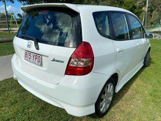 2005 Honda Jazz GD MY05 VTi-S White 7 Speed Constant Variable Hatchback
