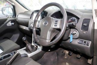 2013 Nissan Navara D40 S6 MY12 ST Blue 6 Speed Manual Utility