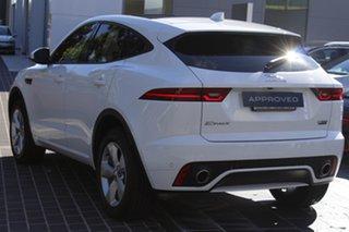2017 Jaguar E-PACE X540 18MY Standard R-Dynamic S White 9 Speed Sports Automatic Wagon.