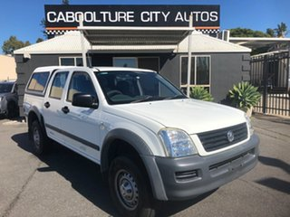 2006 Holden Rodeo RA MY06 Upgrade LX White 4 Speed Automatic Crew Cab Pickup.
