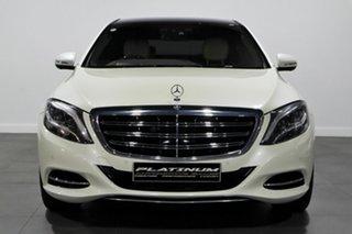 2014 Mercedes-Benz S-Class V222 S600 L SPEEDSHIFT PLUS White 7 Speed Sports Automatic Sedan.