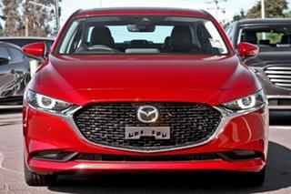 2021 Mazda 3 BP2SLA G25 SKYACTIV-Drive Astina Red 6 Speed Sports Automatic Sedan.