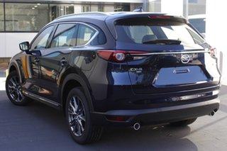 2020 Mazda CX-8 KG4W2A Asaki SKYACTIV-Drive i-ACTIV AWD Deep Crystal Blue 6 Speed Sports Automatic.