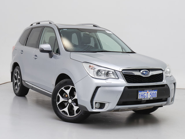 Used Subaru Forester MY13 2.0XT, 2014 Subaru Forester MY13 2.0XT Silver Continuous Variable Wagon