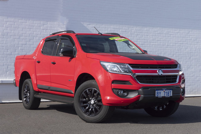 Used Holden Colorado RG MY18 Z71 Pickup Crew Cab Bunbury, 2018 Holden Colorado RG MY18 Z71 Pickup Crew Cab Absolute Red 6 Speed Sports Automatic Utility