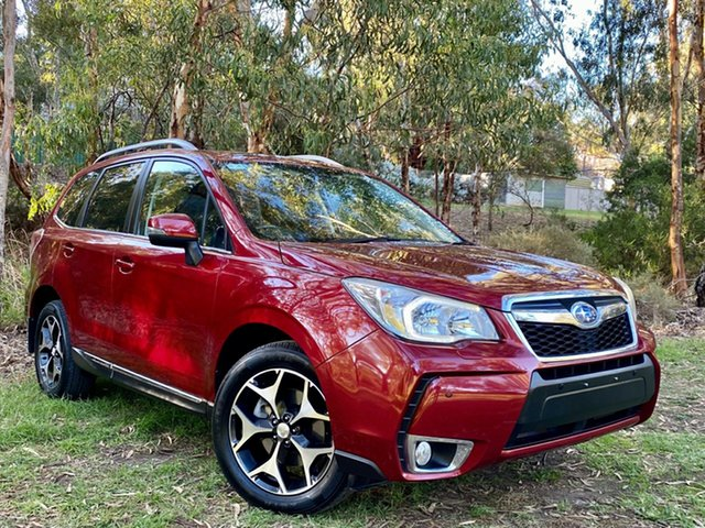 Used Subaru Forester S4 MY14 XT Lineartronic AWD Premium Reynella, 2013 Subaru Forester S4 MY14 XT Lineartronic AWD Premium Burgundy 8 Speed Constant Variable Wagon