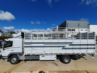 2011 Mercedes-Benz 1629 Atego 1629 Atego Truck White Stock/Cattle crate