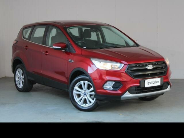 Used Ford Escape Belconnen, 2019 Ford Escape Red 6 Speed Automatic SUV