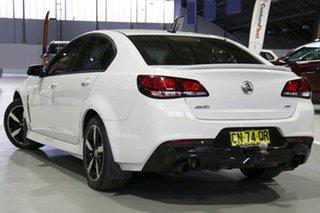 2017 Holden Commodore VF II MY17 SV6 Heron White 6 Speed Sports Automatic Sedan.