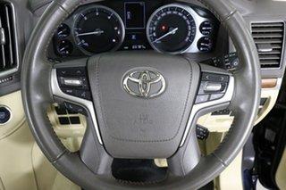 2017 Toyota Landcruiser VDJ200R MY16 VX (4x4) Onyx Blue 6 Speed Automatic Wagon