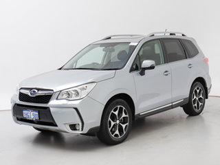 2014 Subaru Forester MY13 2.0XT Silver Continuous Variable Wagon.