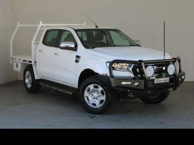 Used Ford Ranger PX MkII MY18 XLT 3.2 (4x4) Phillip, 2017 Ford Ranger PX MkII MY18 XLT 3.2 (4x4) White 6 Speed Manual Double Cab Pick Up