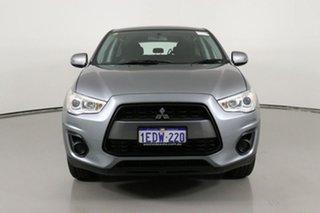 2013 Mitsubishi ASX XB MY13 (2WD) Grey Continuous Variable Wagon.