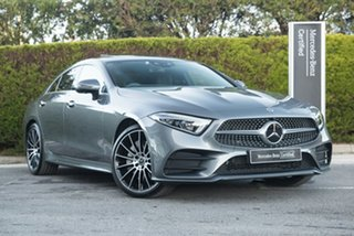 2020 Mercedes-Benz CLS-Class C257 800+050MY CLS450 Coupe 9G-Tronic PLUS 4MATIC Selenite Grey 9 Speed.