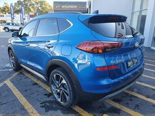 2020 Hyundai Tucson TL3 MY20 Highlander D-CT AWD Blue 7 Speed Sports Automatic Dual Clutch Wagon