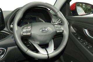 2020 Hyundai i30 PD.V4 MY21 Elite Fiery Red 6 Speed Sports Automatic Hatchback