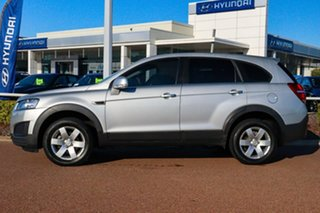 2014 Holden Captiva CG MY14 7 LS Silver 6 Speed Sports Automatic Wagon.