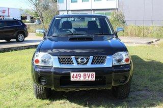 2014 Nissan Navara D22 S5 ST-R Black 5 Speed Manual Utility.