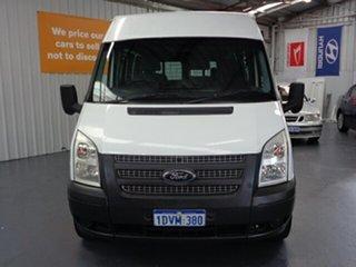 2011 Ford Transit VM 350 Mid Roof LWB White 6 Speed Manual Van.