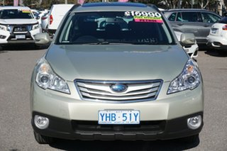 2010 Subaru Outback B5A MY10 2.5i Lineartronic AWD Premium Gold 6 Speed Constant Variable Wagon.