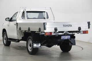 2017 Toyota Hilux GUN126R SR White 6 Speed Sports Automatic Cab Chassis