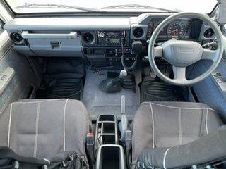 2009 Toyota Landcruiser VDJ78R GXL Troopcarrier 5 Speed Manual Wagon.
