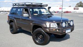 2007 Nissan Patrol GU 5 MY07 ST Bronze 5 Speed Manual Wagon.