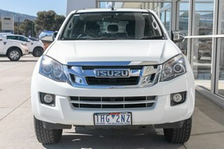 2016 Isuzu D-MAX MY15 LS-U Crew Cab 4x2 High Ride White 5 Speed Sports Automatic Utility.