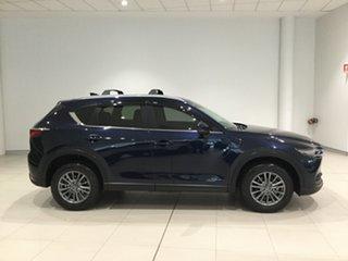 2017 Mazda CX-5 KF2W7A Maxx SKYACTIV-Drive FWD Sport Deep Crystal Blue 6 Speed Sports Automatic.