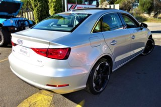 2013 Audi A3 8V MY14 Ambition S Tronic Silver 7 Speed Sports Automatic Dual Clutch Sedan.