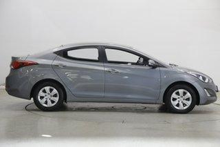 2015 Hyundai Elantra MD3 Active Sparkling Metal 6 Speed Sports Automatic Sedan