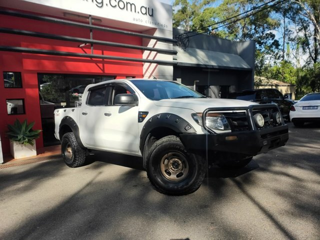 Used Ford Ranger PX XL Ashmore, 2012 Ford Ranger PX XL White 6 Speed Manual Utility