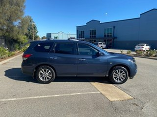 2015 Nissan Pathfinder R52 MY15 ST X-tronic 4WD Blue 1 Speed Constant Variable Wagon