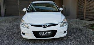 2007 Hyundai i30 FD SX 1.6 CRDi White 5 Speed Manual Hatchback.