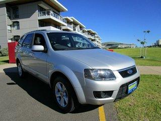 2010 Ford Territory SY MkII TS (4x4) Silver 6 Speed Auto Seq Sportshift Wagon.
