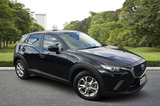 2015 Mazda CX-3 DK4W7A Maxx SKYACTIV-Drive i-ACTIV AWD Black 6 Speed Sports Automatic Wagon.