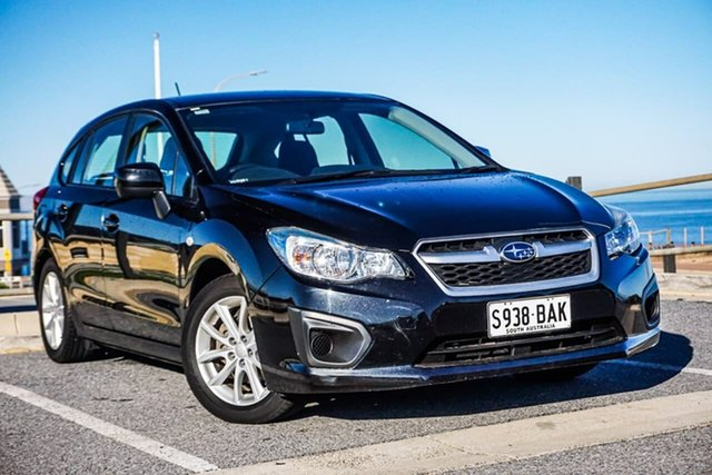 Used Subaru Impreza G4 MY14 2.0i Lineartronic AWD Christies Beach, 2014 Subaru Impreza G4 MY14 2.0i Lineartronic AWD Black 6 Speed Constant Variable Hatchback