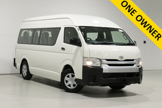 2017 Toyota HiAce KDH223R MY16 Commuter White 4 Speed Automatic Bus.