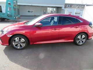 2020 Honda Civic 10th Gen MY20 VTi-L Ignite Red 1 Speed Constant Variable Sedan