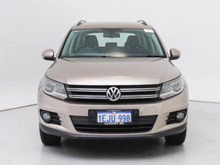 2013 Volkswagen Tiguan 5NC MY13.5 132 TSI Pacific Beige 7 Speed Auto Direct Shift Wagon.