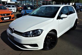 2017 Volkswagen Golf 7.5 MY17 110TSI White 6 Speed Manual Hatchback.