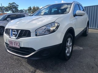 2012 Nissan Dualis J107 Series 3 MY12 +2 Hatch X-tronic 2WD ST White 6 Speed Constant Variable